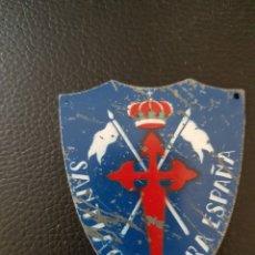 Militaria: INSIGNIA LACO SANTIAGO Y CIERRA ESPAÑA. Lote 126288936