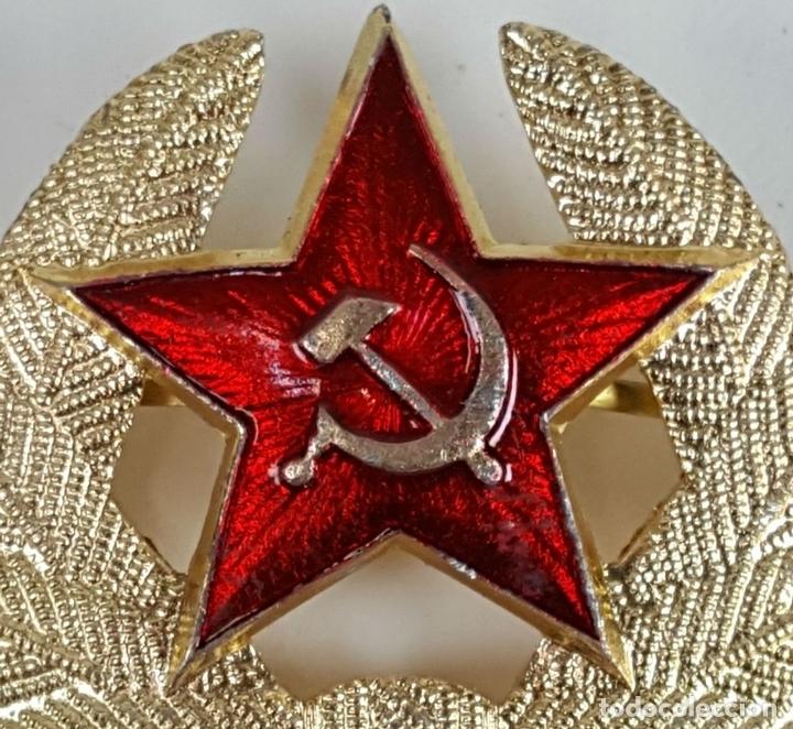Militaria: COLECCIÓN DE 140 INSIGNIAS MILITARES RUSAS PARA GORRO USHANKA. CIRCA 1950. - Foto 9 - 127200659