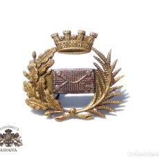Militaria: DISTINTIVO DE CUELLO DEL CUERPO DE CORREOS, REPÚBLICA. Lote 127672563