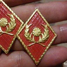 Militaria: INTENDENCIA PAR DE ROMBOS NUEVOS. Lote 195082150