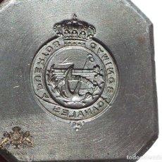 Militaria: TROQUEL.- INSIGNIA CAMINOS CANALES Y PUERTOS. Lote 128108683