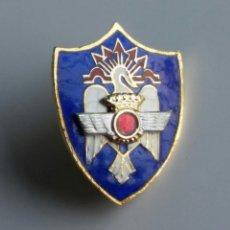 Militaria: INSIGNIA PIN AVIACIÓN MILICIAS UNIVERSITARIAS ESMALTADA. Lote 128232987