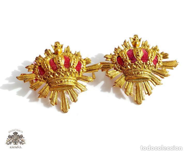 DISTINTIVOS CARABINEROS - ALFONSO XIII (Militar - Insignias Militares Españolas y Pins)