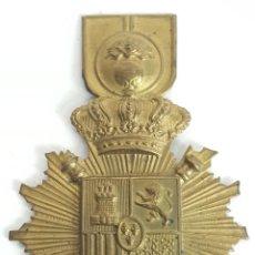 Militaria: INSIGNIA PARA ROS O CHACÓ. ARTILLERÍA. ALFONSO XIII. REPUBLICA. SIGLO XX. . Lote 128348811