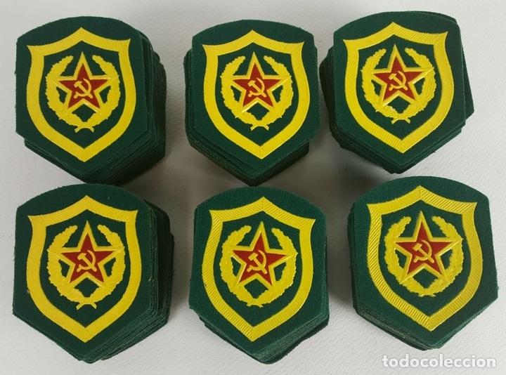 COLECCIÓN DE 164 PARCHES DE TELA. EJERCITO RUSO. CONTROL DE CARRTERAS. SIGLO XX. (Militar - Insignias Militares Internacionales y Pins)