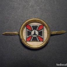 Militaria: EMBLEMA DE GORRA KYFFHÄUSERBUND. VETERANO DE LA I GUERRA MUNDIAL. REPUBLICA DE WEIMAR. Lote 128641811