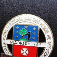 Militaria: III CURSO INTERNACIONAL DE PERFECIONAMIENTO PARA MEDICOS MILITARES JOVENES. 1965.. Lote 128852007