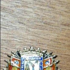 Militaria - Antigua insignia militar de Plata.curiosa leyenda - 128763831
