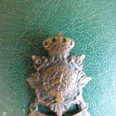 Militaria: INSIGNIA CUERPO DE MARINES HOLANDA. BRONCE. Lote 128888211