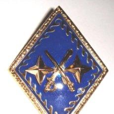 Militaria: ROMBO GENERAL DE DIVISION FONDO AZUL. Lote 129063215