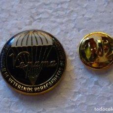 Militaria: INSIGNIA PIN MILITAR. VEPAMA. VETERANOS PARACAIDISTAS MALAGA. Lote 129392615