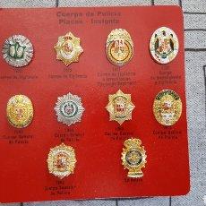 Militaria: COLECCION PINS PLACAS POLICIA.ESPAÑA. Lote 132433350