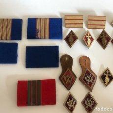 Militaria: LOTE ROMBOS MILITARES. Lote 130130551