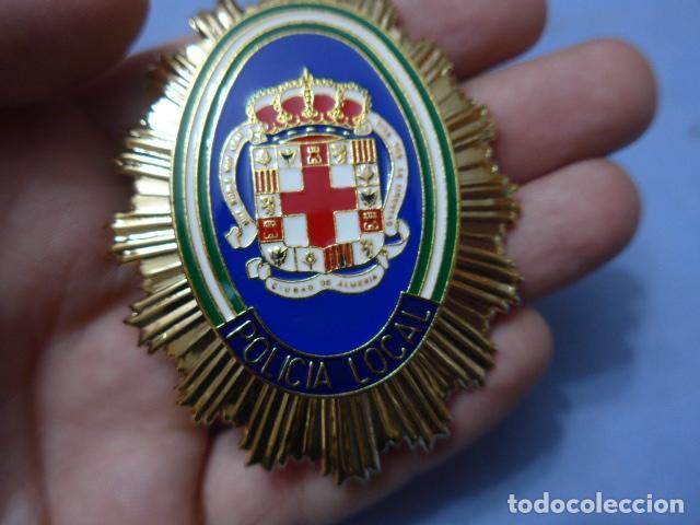Militaria: * Placa de policia de almeria, andalucia, original. ZX - Foto 2 - 131949850