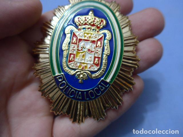 Militaria: * Placa de policia de granada, andalucia, original. ZX - Foto 2 - 131950326