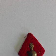 Militaria: INSIGNIA MILITAR BOMBA ROMBO TELA Y METAL VER FOTO PARTE TRASERA AÑOS 80. Lote 132329002