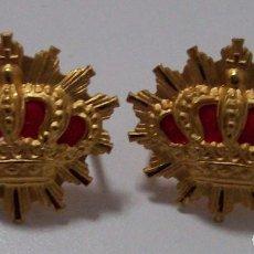 Militaria: INSIGNIAS CARABINEROS ALFONSO XIII. Lote 132332834