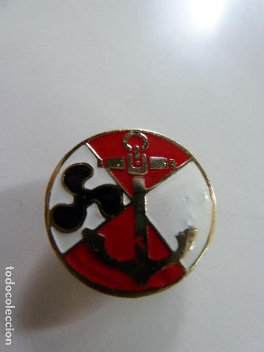 PIN DE SOLAPA. MARINA. ESMALTADO (Militar - Insignias Militares Españolas y Pins)