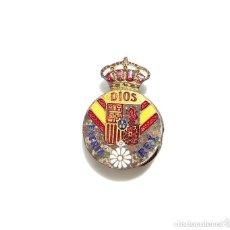 Militaria: INSIGNIA DISTINTIVO CARLISTA, TERCIOS DE REQUETES. Lote 132688202