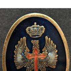 Militaria: INSIGNIA DE PECHO IMEC EJERCITO ESPAÑA 5,5X4CM EXCELENTE CONSERVACION. Lote 133501726