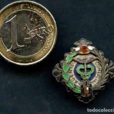 Militaria: INSIGNIA DE PLATA, AGENTE COMERCIAL, ÉPOCA FRANCO. Lote 133588166