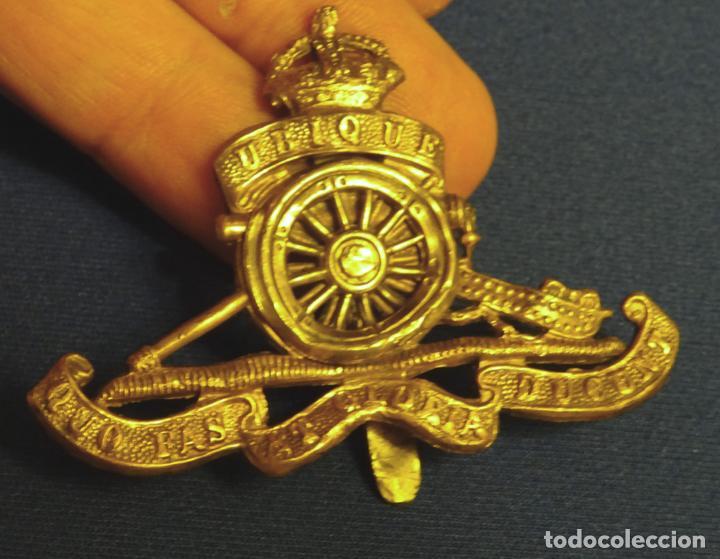 Antiguo Emblema Ejército Real Artilleria Ingles Kaufen