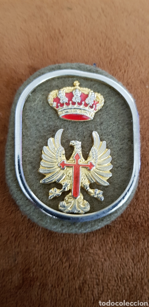 Militaria: Insignia militar de águila de San Juan y corona 1991 - Foto 3 - 133822997