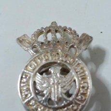 Militaria: INSINIA MILITAR DE PLATA DE OJAL. Lote 134301358