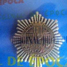 Militaria: (JX-180941)PLACA PECHO,CREDENCIAL IDENTIFICATIVA DE MOSSOS D´ESCUADRA (MOZOS DE ESCUADRA )1931-1939. Lote 134379706