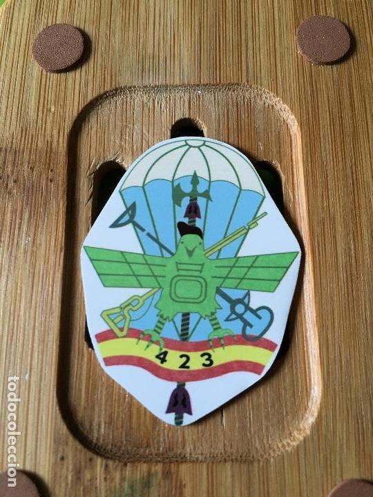 MASCOTA INSIGNIA CURSO 423 BRIPAC (Militar - Insignias Militares Españolas y Pins)