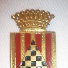 Militaria: INSIGNIA ESCUDO DE BRAZO. DIVISIÓN DE INFANTERIA DE URGEL. GUERRA CIVIL ESPAÑOLA. Lote 135224570