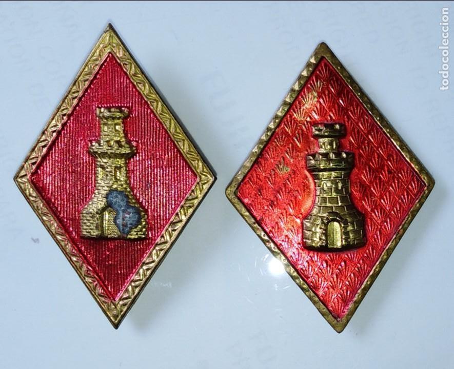 ROMBOS DE INGENIEROS (Militar - Insignias Militares Españolas y Pins)
