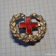 Militaria: INSIGNIA DE LA CRUZ ROJA PARA CUELLO. Lote 38540357