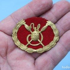 Militaria: INSIGNIA EMBLEMA GRANADERO - ALFONSO XIII - GUERRA CIVIL. Lote 137822314