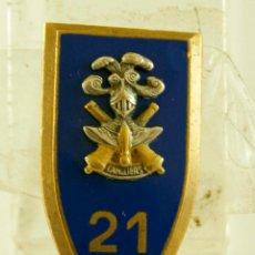 Militaria: INSIGNIA CANUERS? DRACO PARIS ESMALTE NUMERADA. Lote 138038998