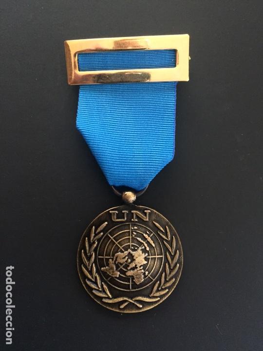 MEDALLA ONU (Militar - Insignias Militares Españolas y Pins)
