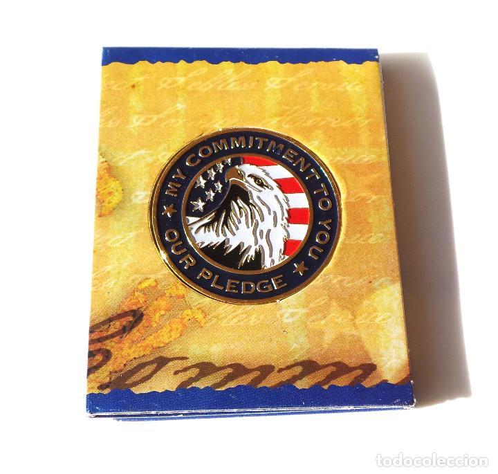 Militaria: Placa de La Guardia Nacional de los Estados Unidos es una Fuerza de Reserva - Foto 2 - 145387345