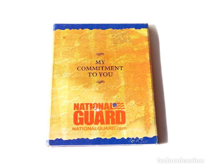 Militaria: Placa de La Guardia Nacional de los Estados Unidos es una Fuerza de Reserva - Foto 4 - 145387345