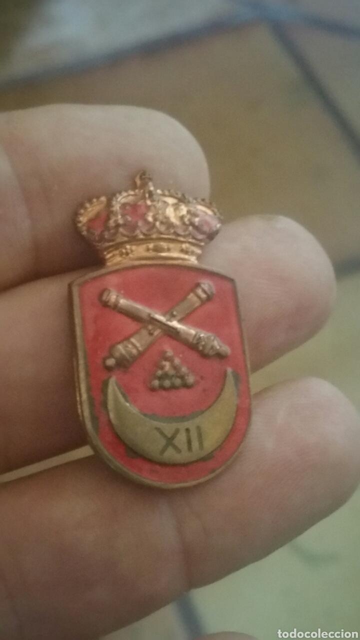 DISTINTIVO DE ARTILLEROS DE REGULARES (Militar - Insignias Militares Españolas y Pins)