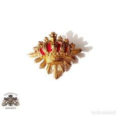 Militaria: INSIGNIA DISTINTIVO DE CARABINEROS ALFONSO XIII. Lote 139960602