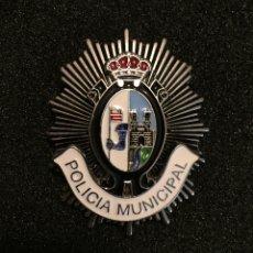 Militaria: PLACA POLICÍA MUNICIPAL ZAMORA. Lote 140169641
