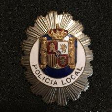 Militaria: PLACA POLICÍA LOCAL. Lote 140173558