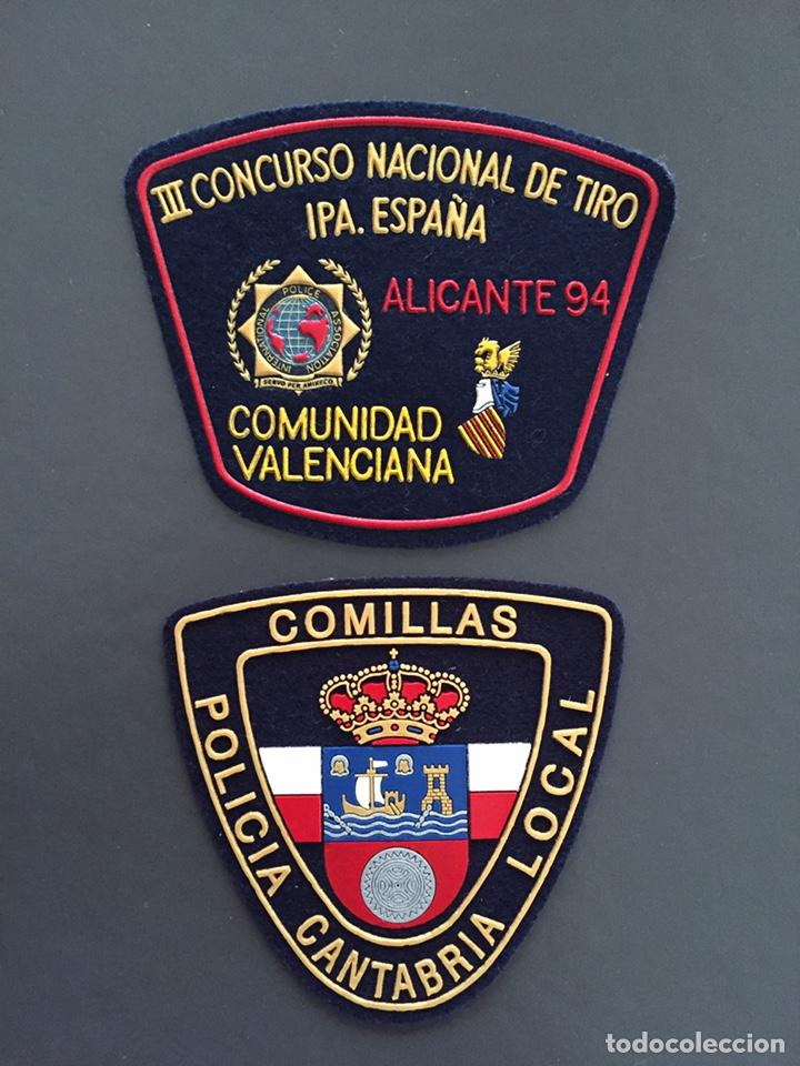 PARCHES IPA Y POLICÍA (Militar - Insignias Militares Españolas y Pins)
