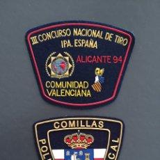 Militaria: PARCHES IPA Y POLICÍA. Lote 140460609