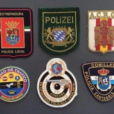 Militaria: POLICÍA PARCHES. Lote 140460913