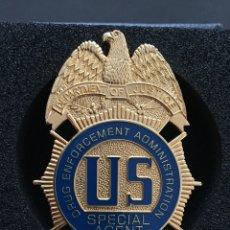 Militaria: PLACA AGENTE ESPECIAL. Lote 140461582