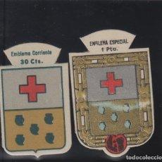 Militaria: SERIE B - Nº 62 BERBENA - 30 CTS Y 1/UNA PTA- EMBLEMA AUXILIO SOCIAL. Lote 140607926