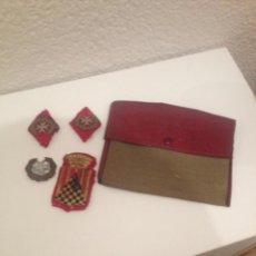 Militaria - Lote de insignias militares antiguas - 140634458