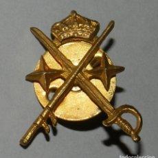 Militaria: ANTIGUA INSIGNIA METALICA DE GENERAL, MIDE 3 X 2,2 CMS.. Lote 140963686