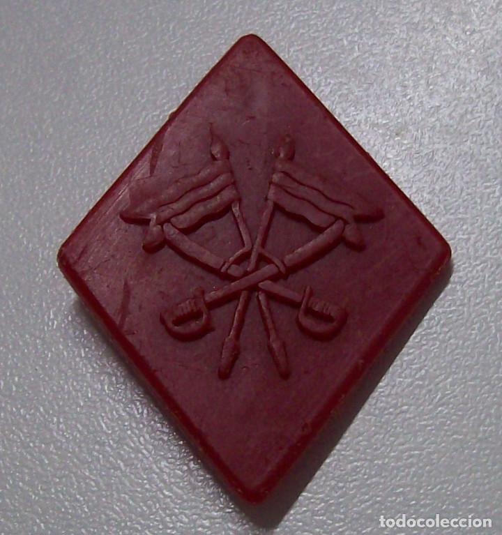 ROMBO PLASTICO CABALLERIA (Militar - Insignias Militares Españolas y Pins)